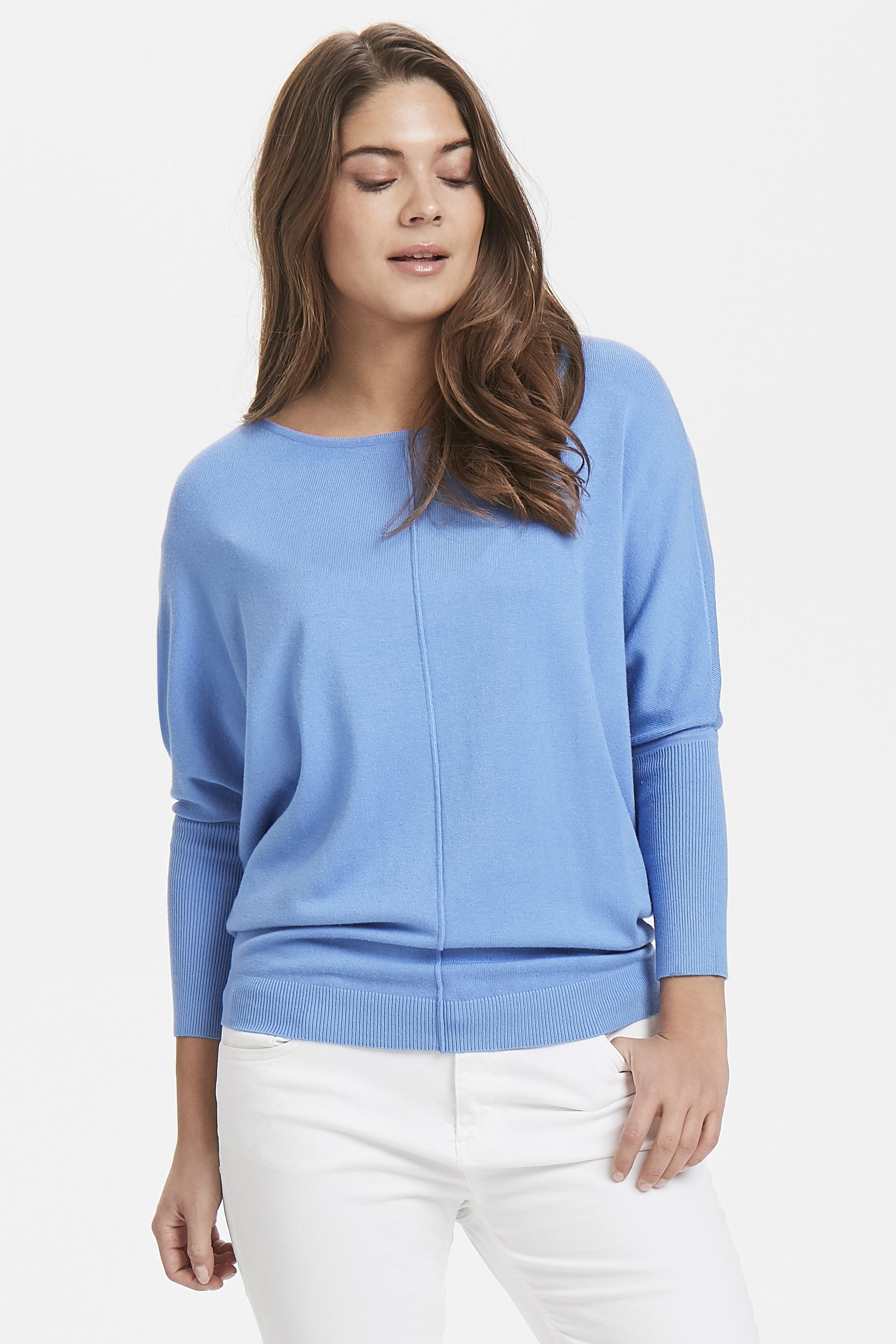 MEL. Cornflower Blue Pullover van b.young – Koop MEL. Cornflower Blue Pullover hier van size XS-XXL