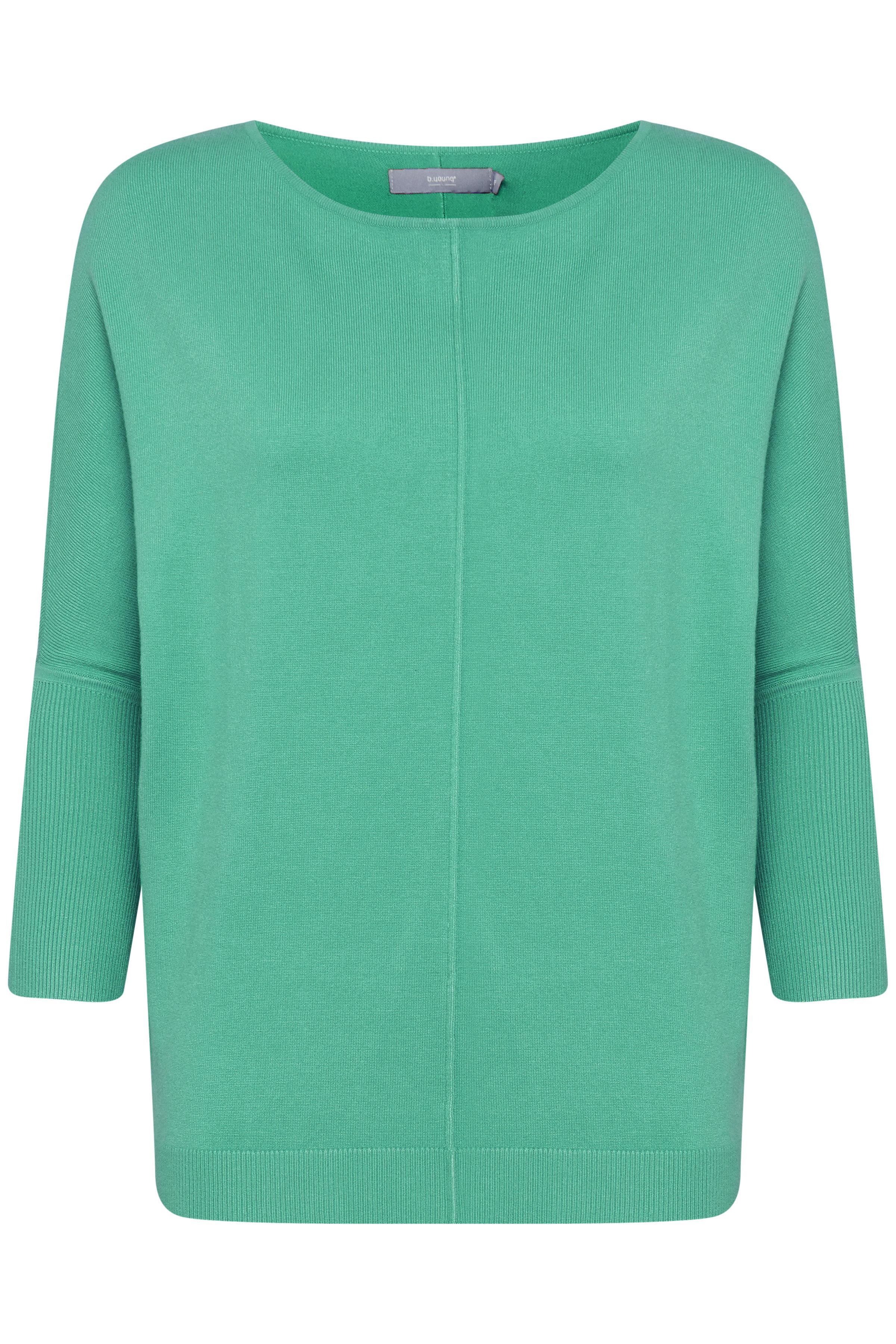 MEL. Fresh Green Pullover van b.young – Koop MEL. Fresh Green Pullover hier van size XS-XXL