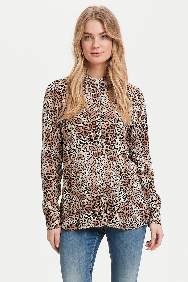 Moonlight Leopard Combi 1 Long sleeved shirt from b.young – Buy Moonlight Leopard Combi 1 Long sleeved shirt from size 34-46 here