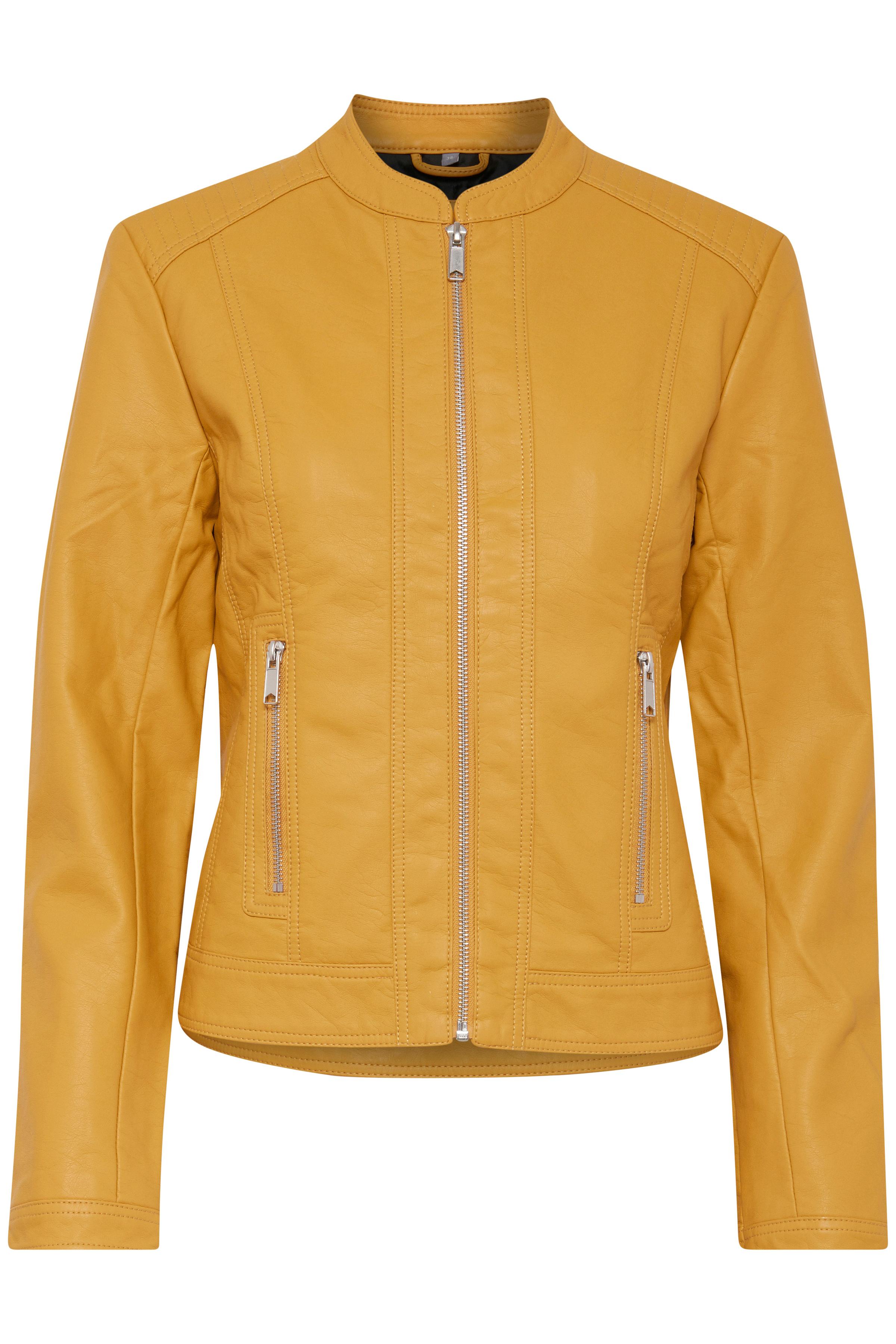 Ochre Yellow Jacke von b.young – Kaufen Sie Ochre Yellow Jacke aus Größe 34-46 hier