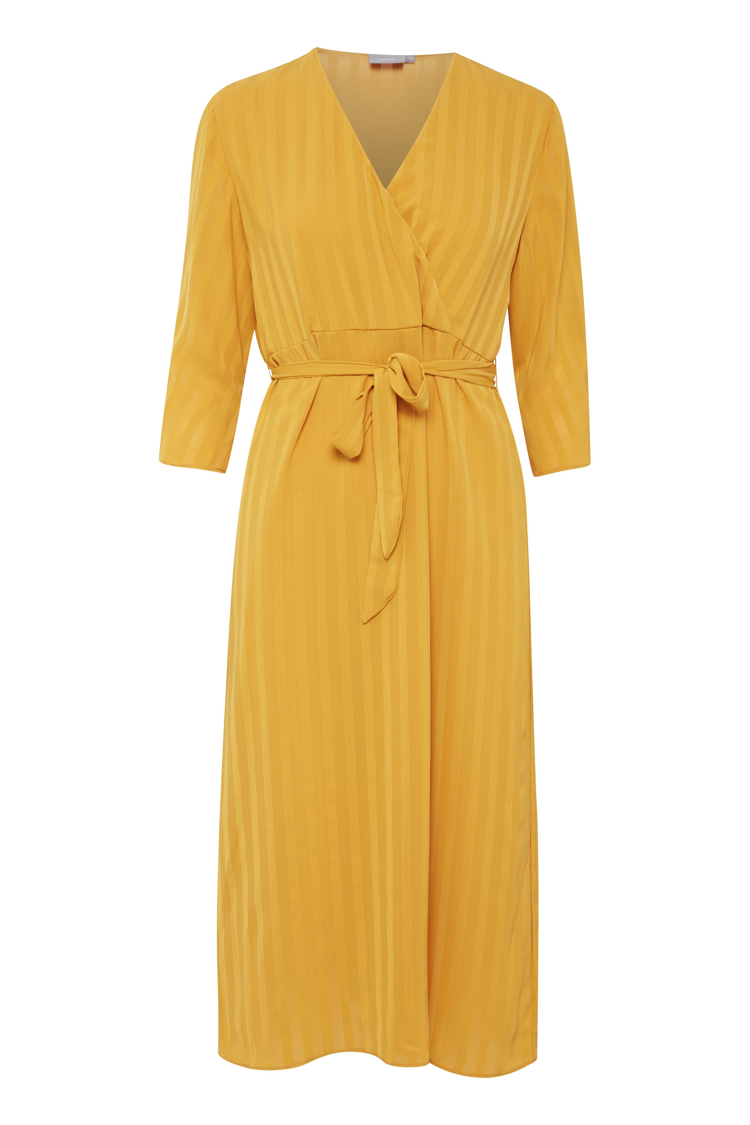 Ochre Yellow Kjole fra b.young – Køb Ochre Yellow Kjole fra str. 36-44 her