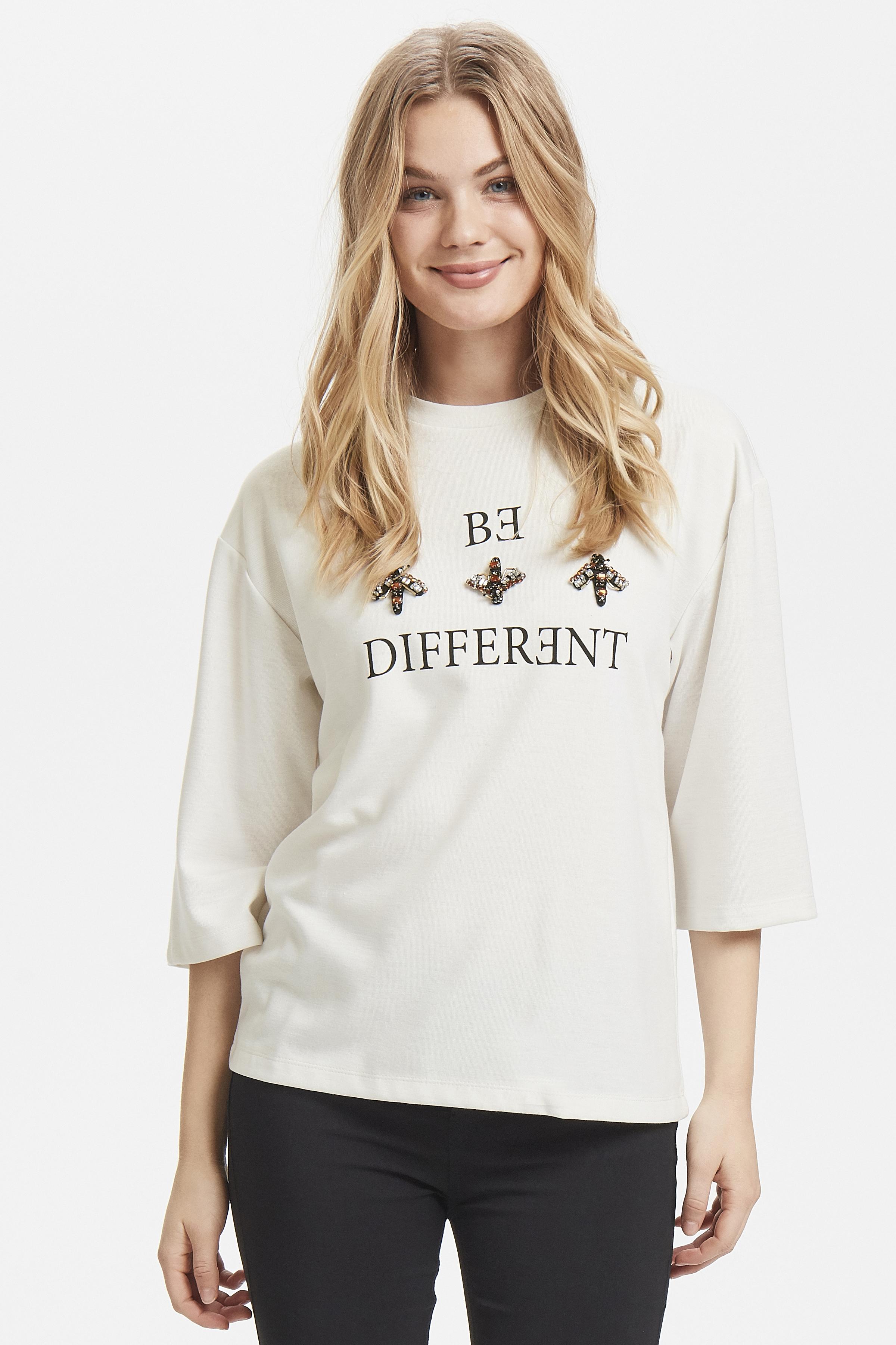 Off White Blouse met lange mouwen van b.young – Koop Off White Blouse met lange mouwen hier van size XS-XL