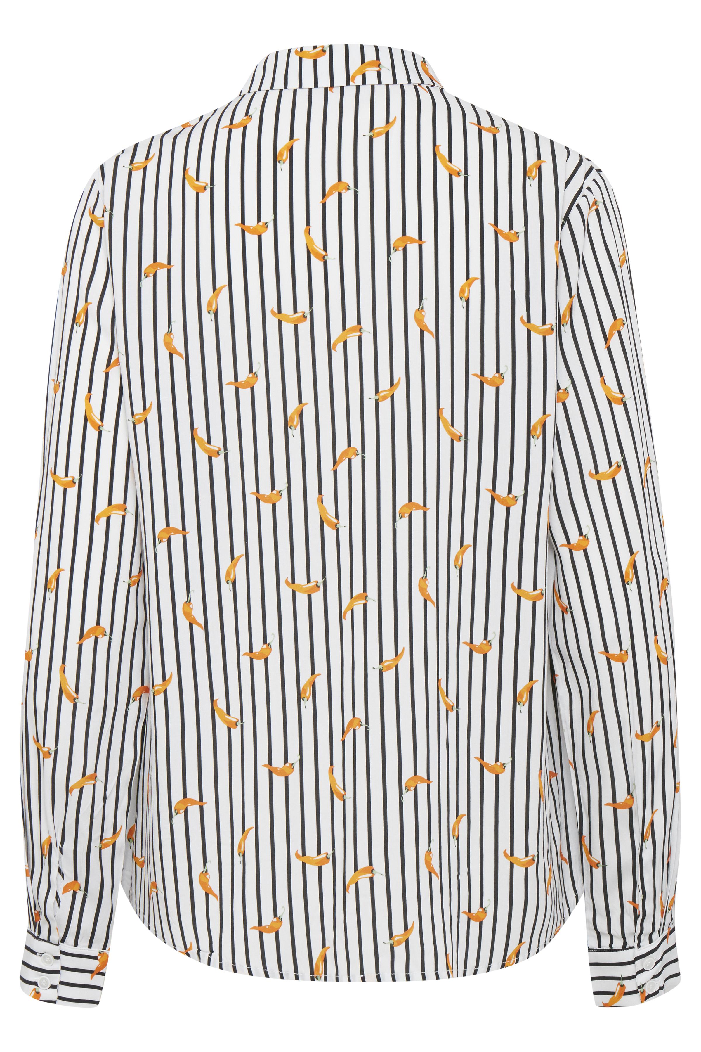 Off white combi 1 Langærmet skjorte fra b.young – Køb Off white combi 1 Langærmet skjorte fra str. 34-46 her
