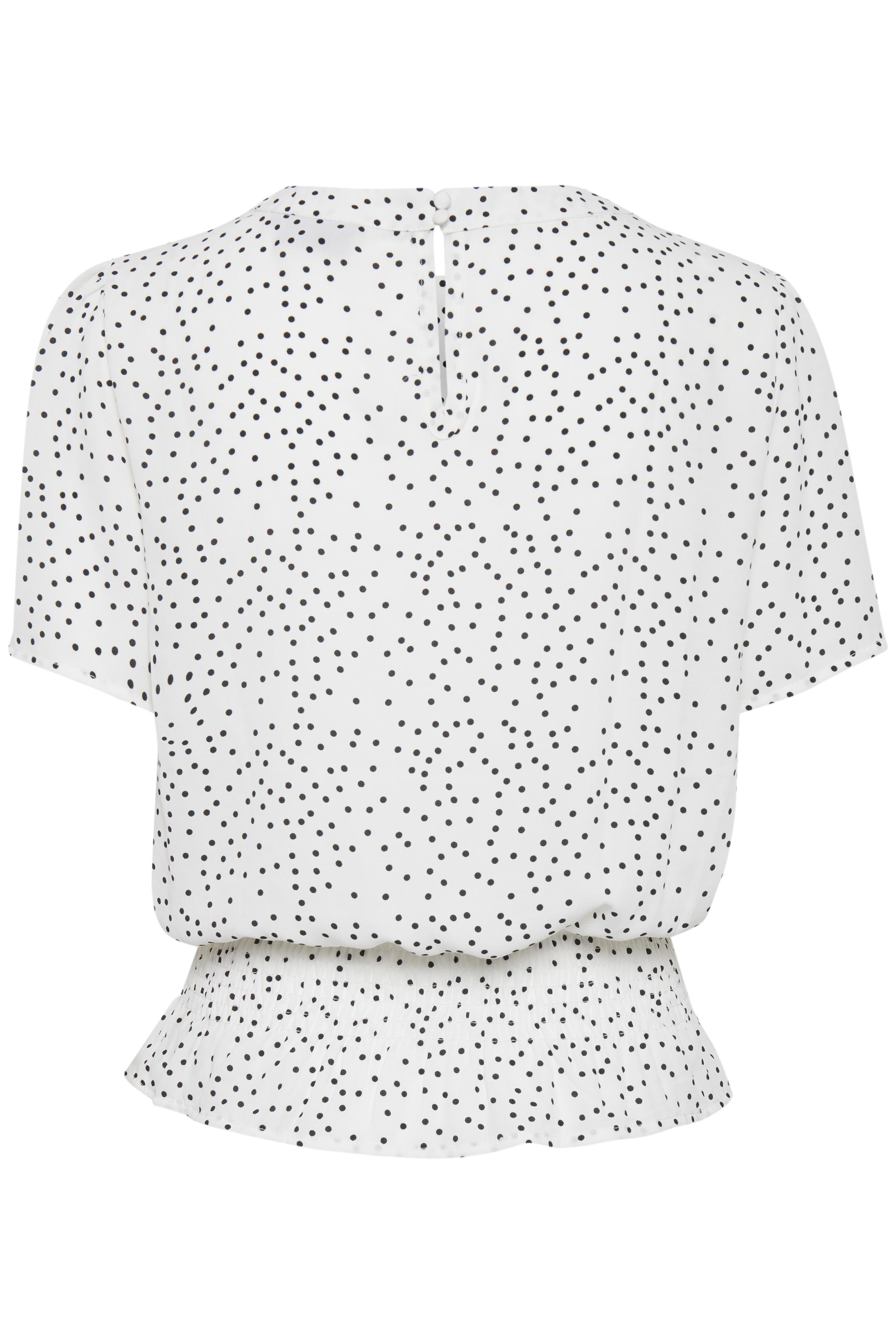 Off white combi 1 Top fra b.young – Køb Off white combi 1 Top fra str. 34-42 her