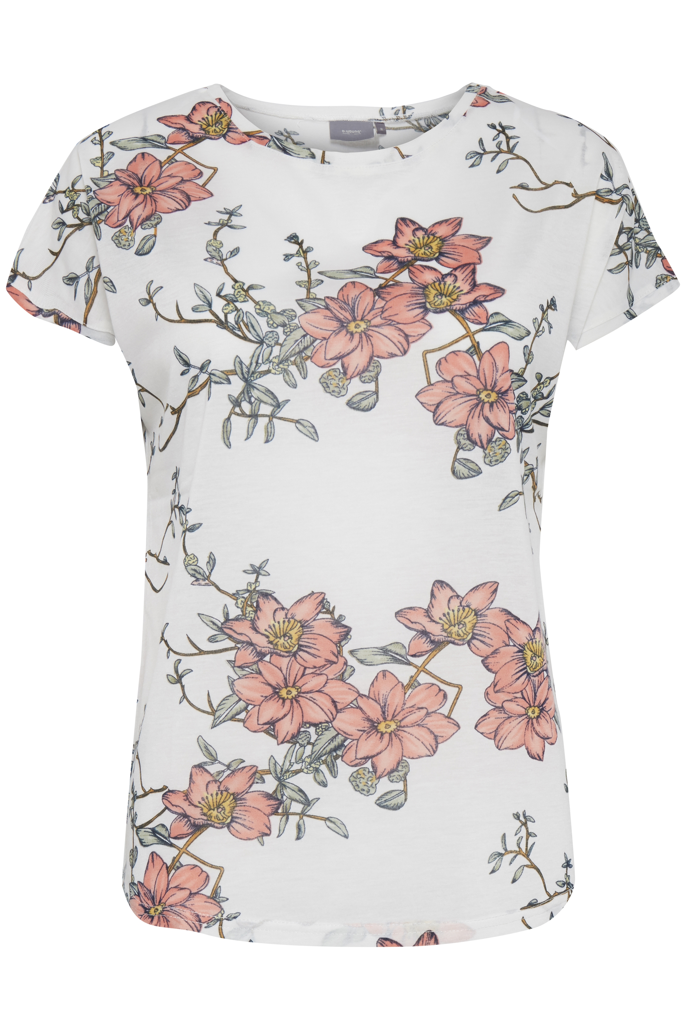 OFF WHITE COMBI 2 T-shirt fra b.young – Køb OFF WHITE COMBI 2 T-shirt fra str. XS-XL her