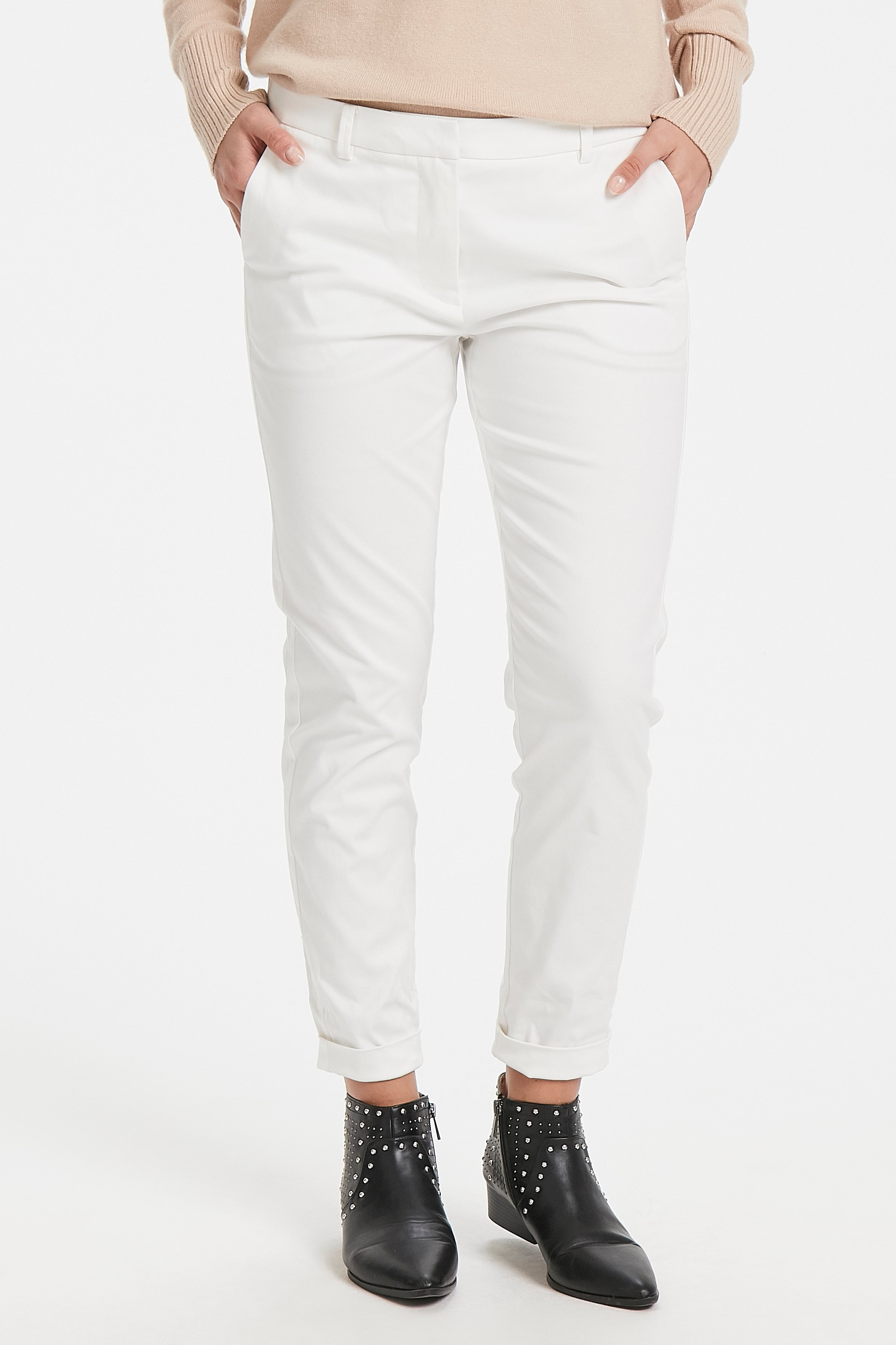 Off White Pants Suiting fra b.young – Køb Off White Pants Suiting fra str. 34-46 her