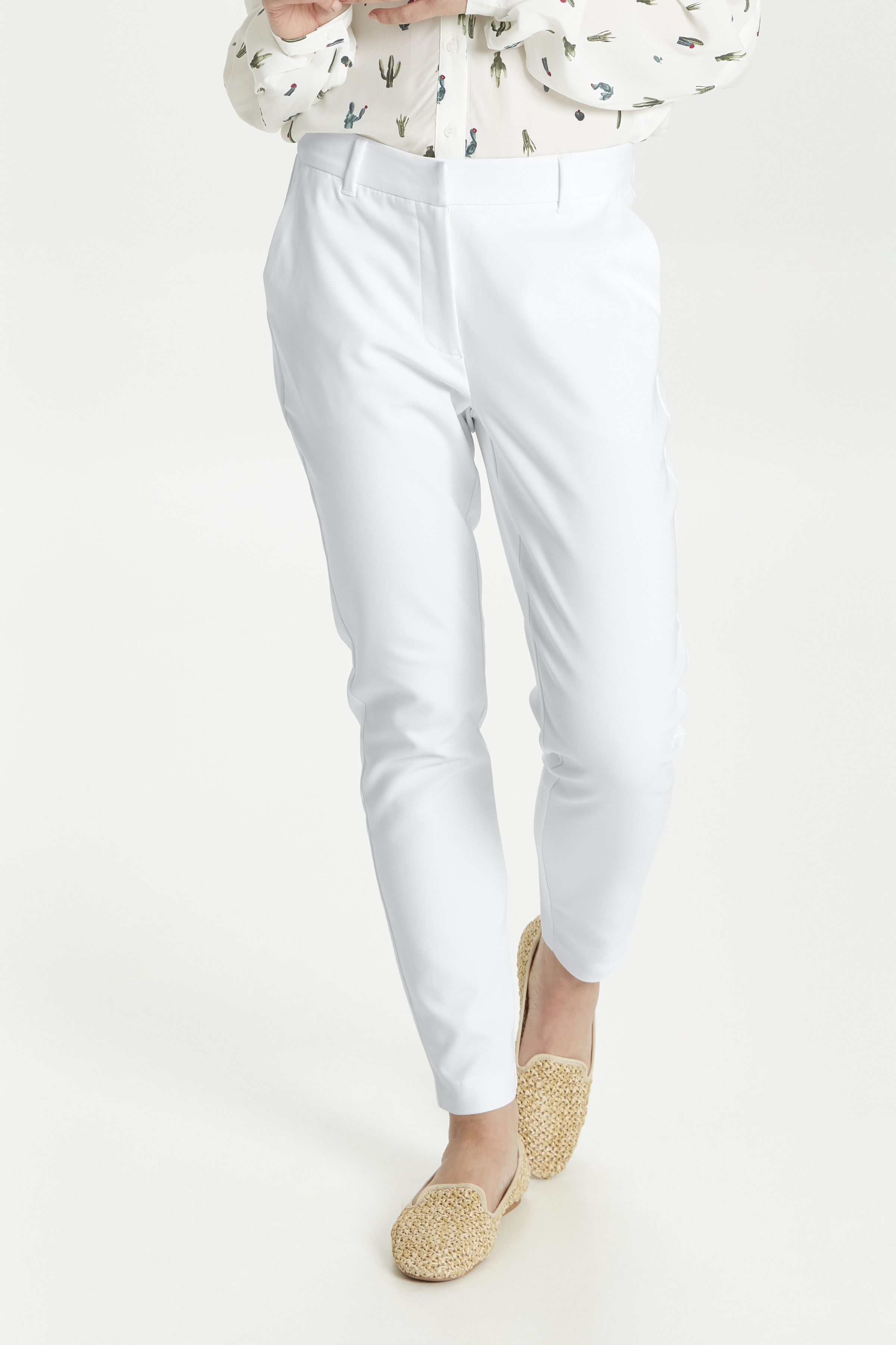 Off White Pants Suiting fra b.young – Køb Off White Pants Suiting fra str. 34-44 her