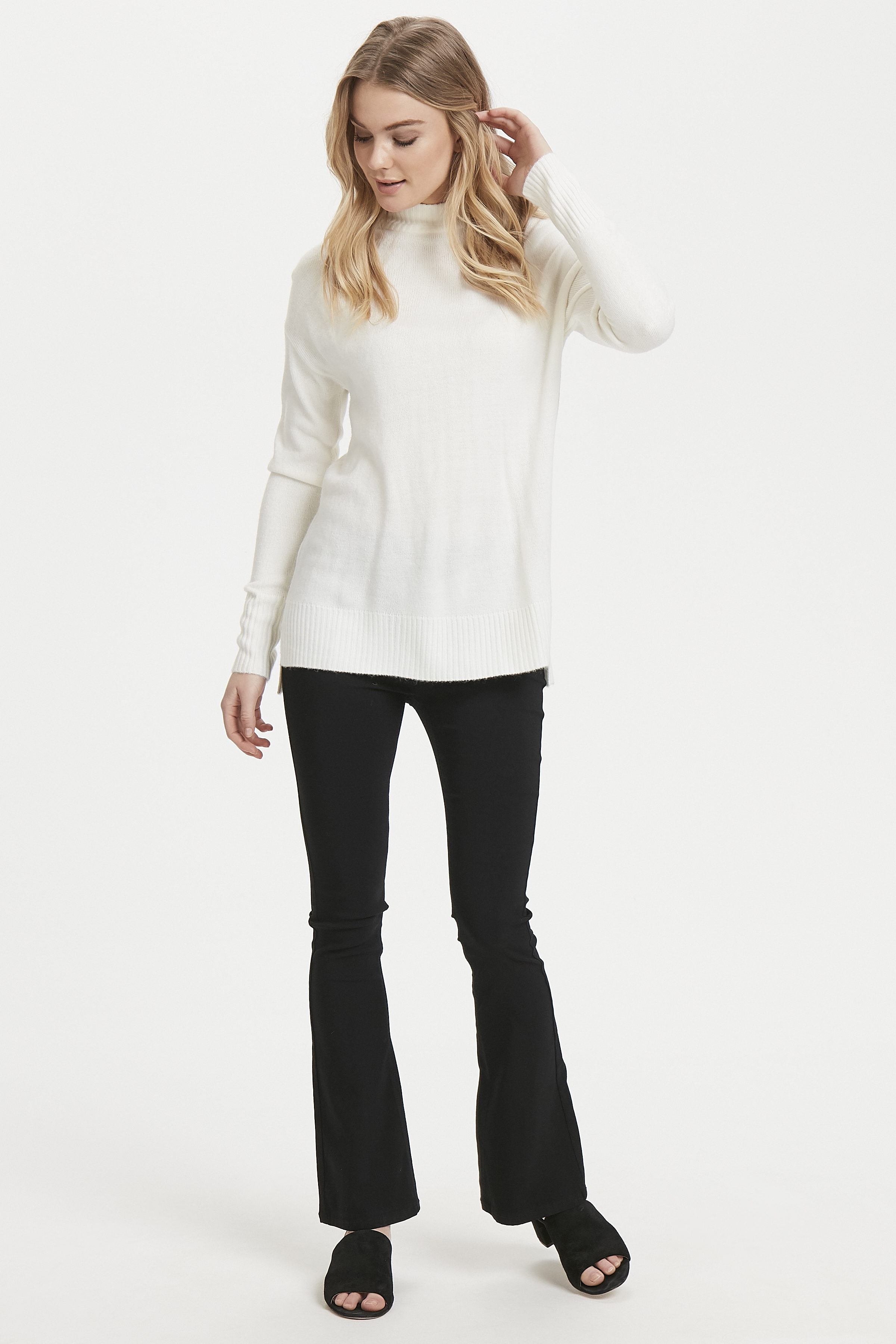 Off White Pullover van b.young – Koop Off White Pullover hier van size XS-XXL
