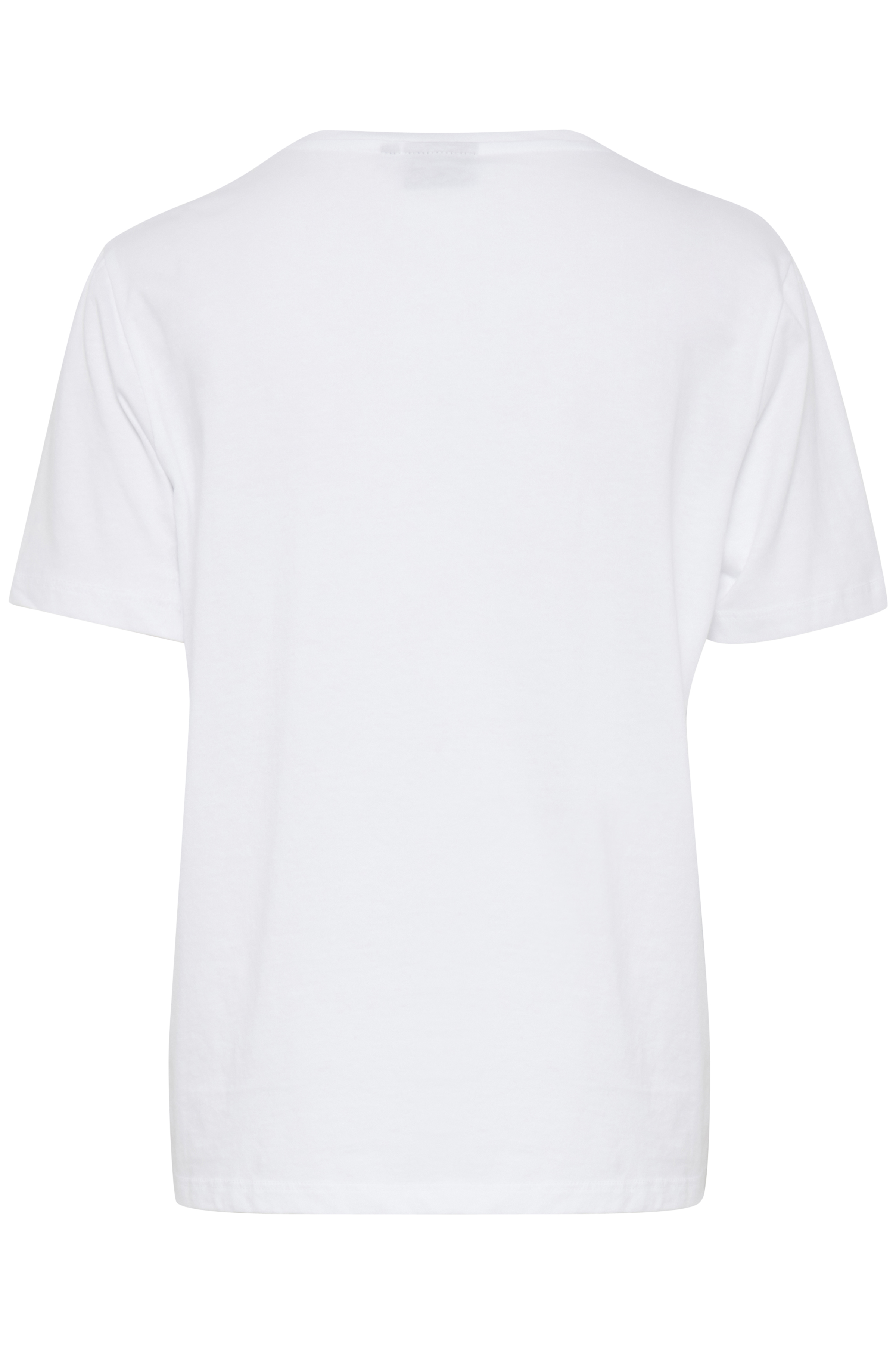 Optical White Combi T-shirt fra b.young – Køb Optical White Combi T-shirt fra str. XS-XXL her