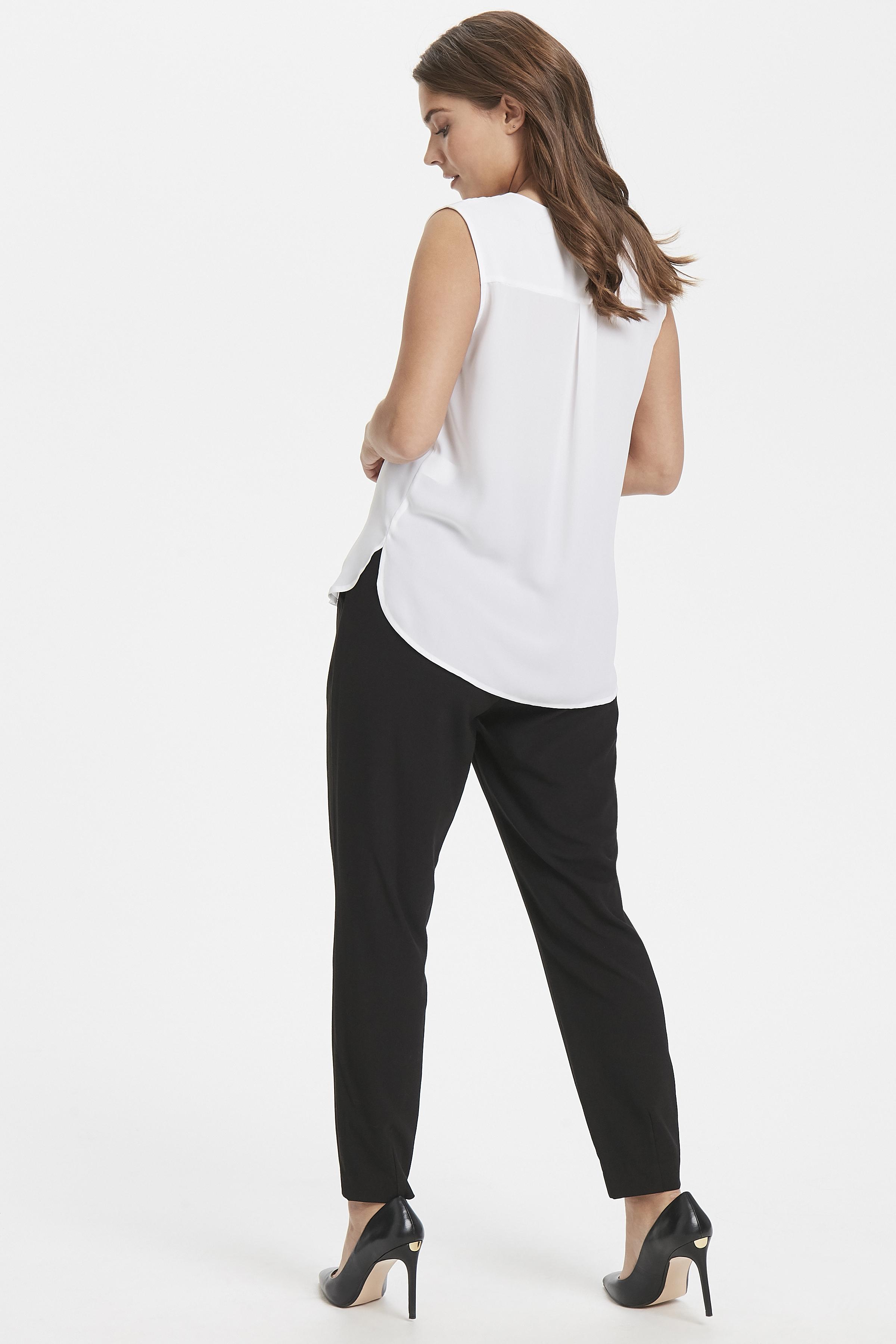 Optical White Hemd von b.young – Kaufen Sie Optical White Hemd aus Größe 34-46 hier