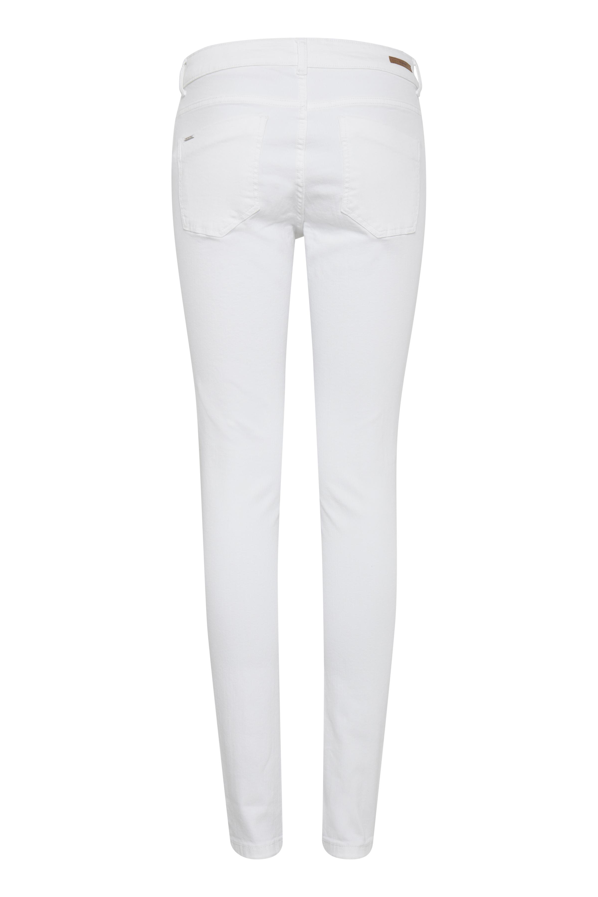 Optical White Jeans van b.young – Koop Optical White Jeans hier van size 25-36