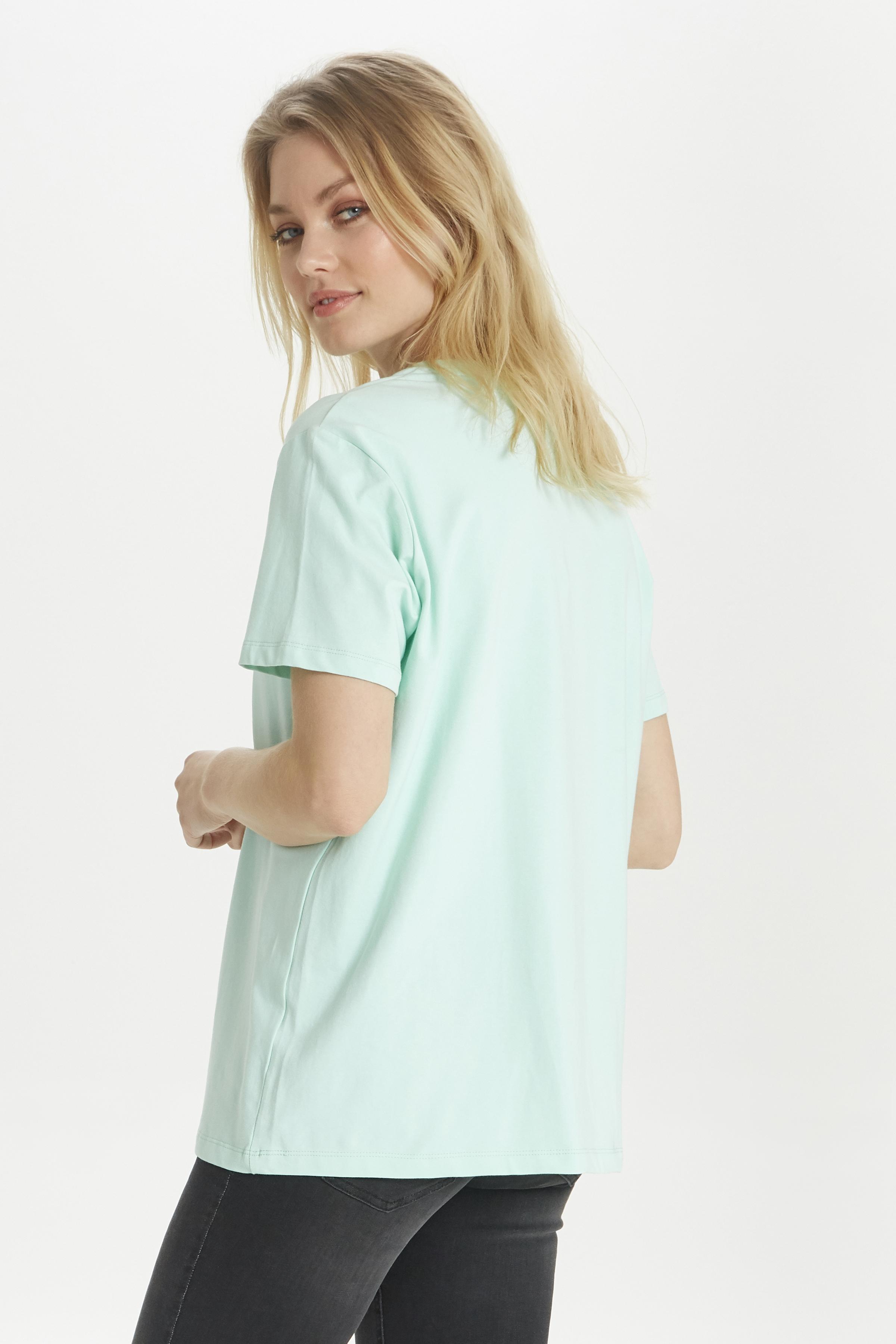 Pastel Mint T-shirt fra b.young – Køb Pastel Mint T-shirt fra str. XS-XXL her