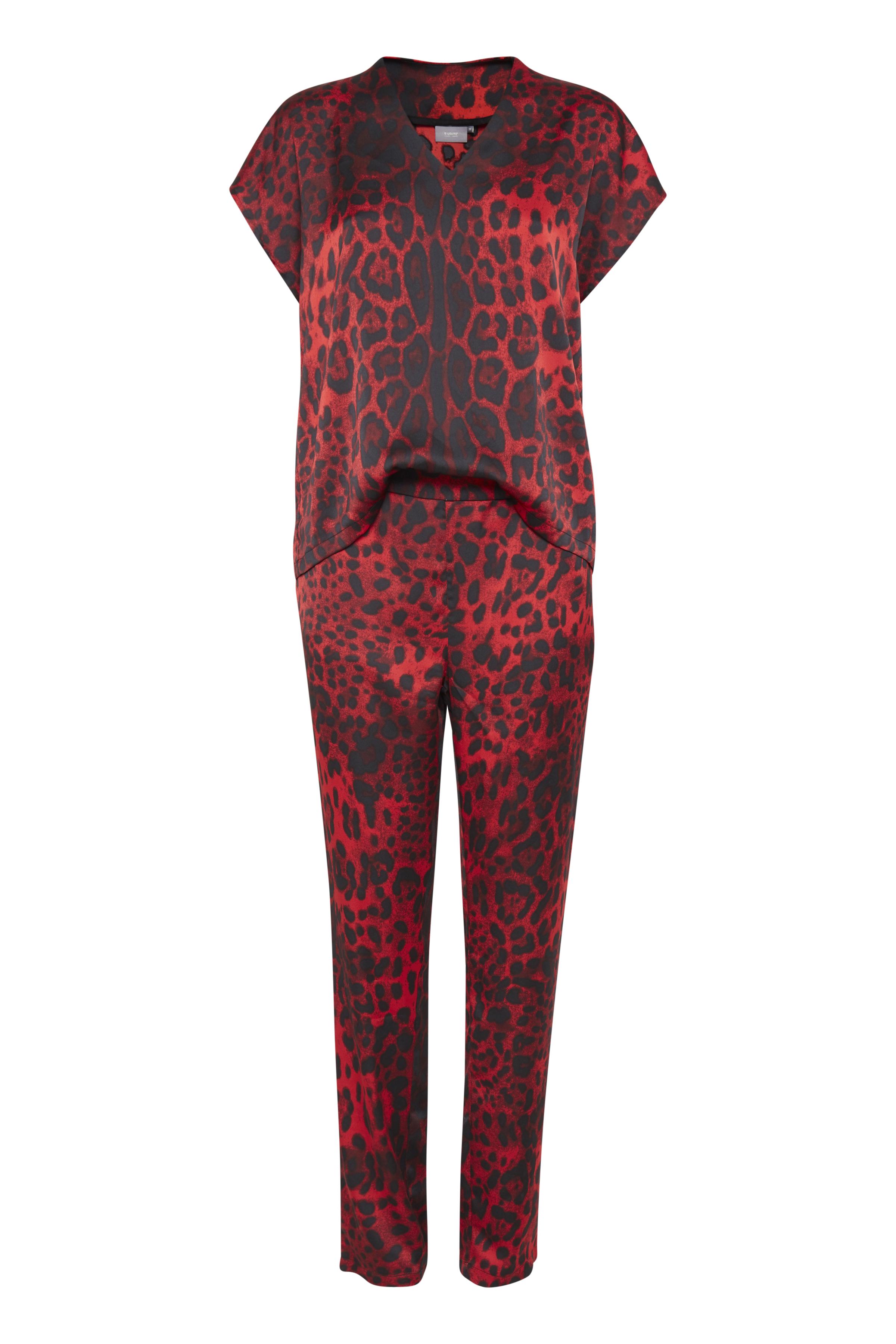Red combi 2 Jumpsuit fra b.young – Køb Red combi 2 Jumpsuit fra str. 34-46 her