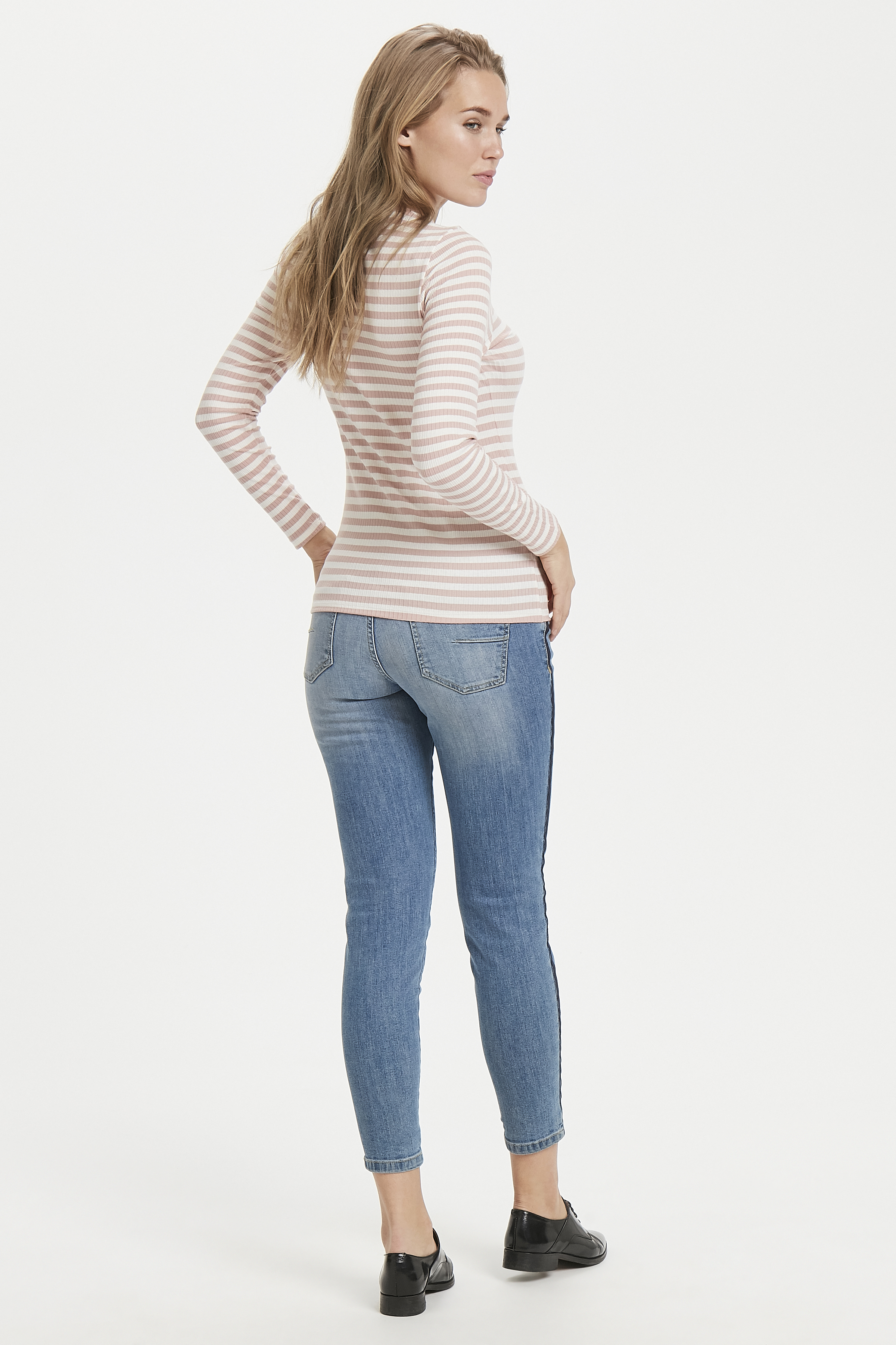 Rose Cloud combi Langarm-Shirt von b.young – Kaufen Sie Rose Cloud combi Langarm-Shirt aus Größe XS-XXL hier