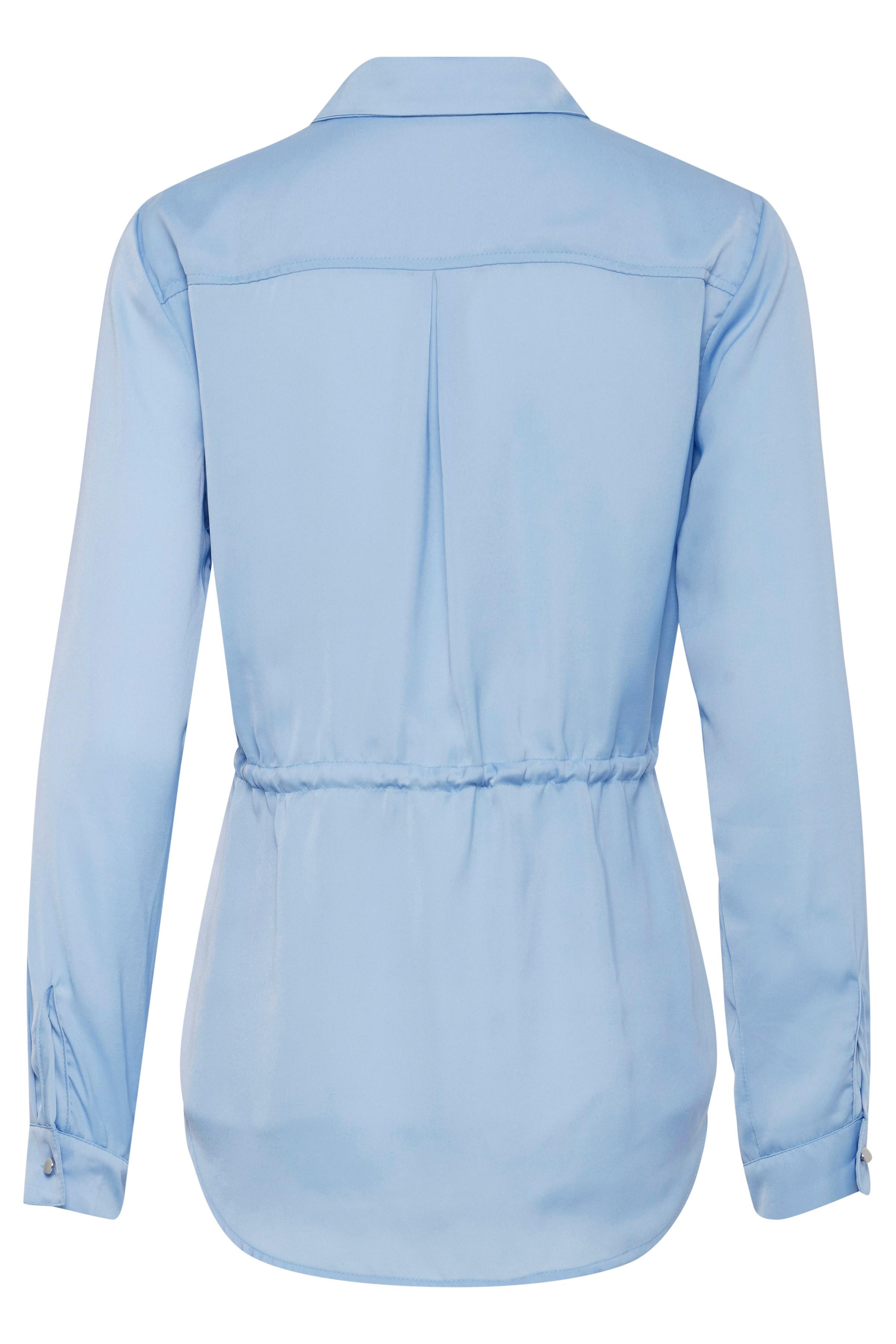 Sky Blue Langarm - Hemd von b.young – Kaufen Sie Sky Blue Langarm - Hemd aus Größe 36-46 hier