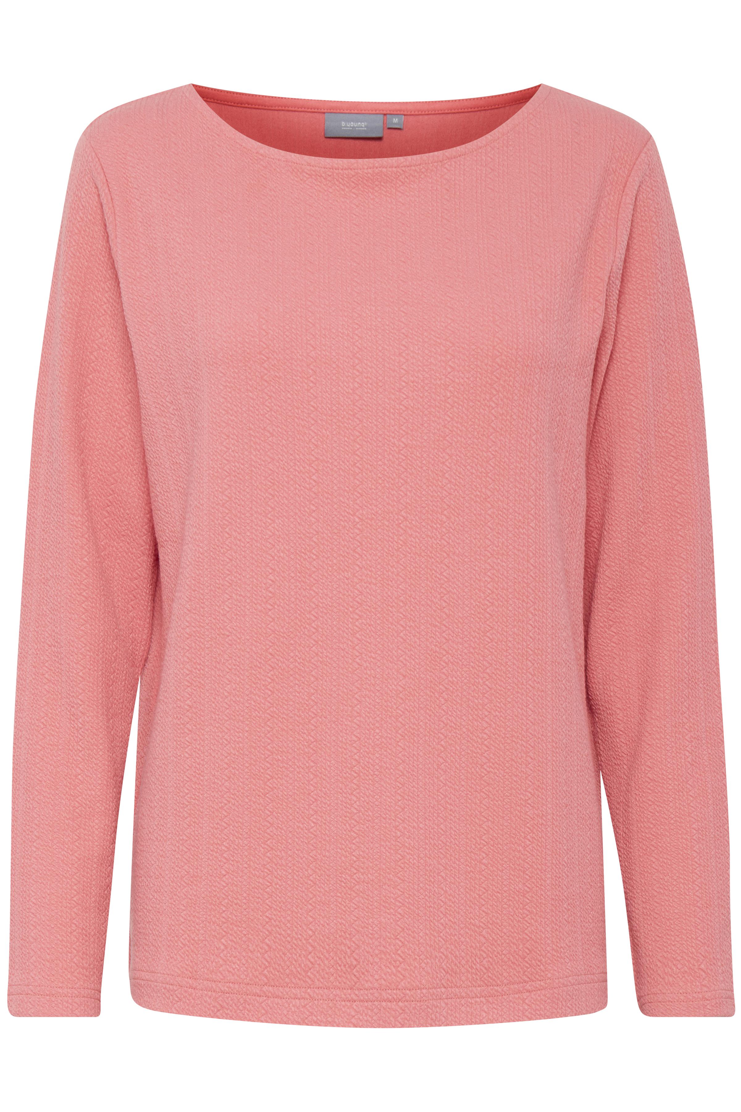 Sunkist Coral Langærmet T-shirt fra b.young – Køb Sunkist Coral Langærmet T-shirt fra str. S-XXL her