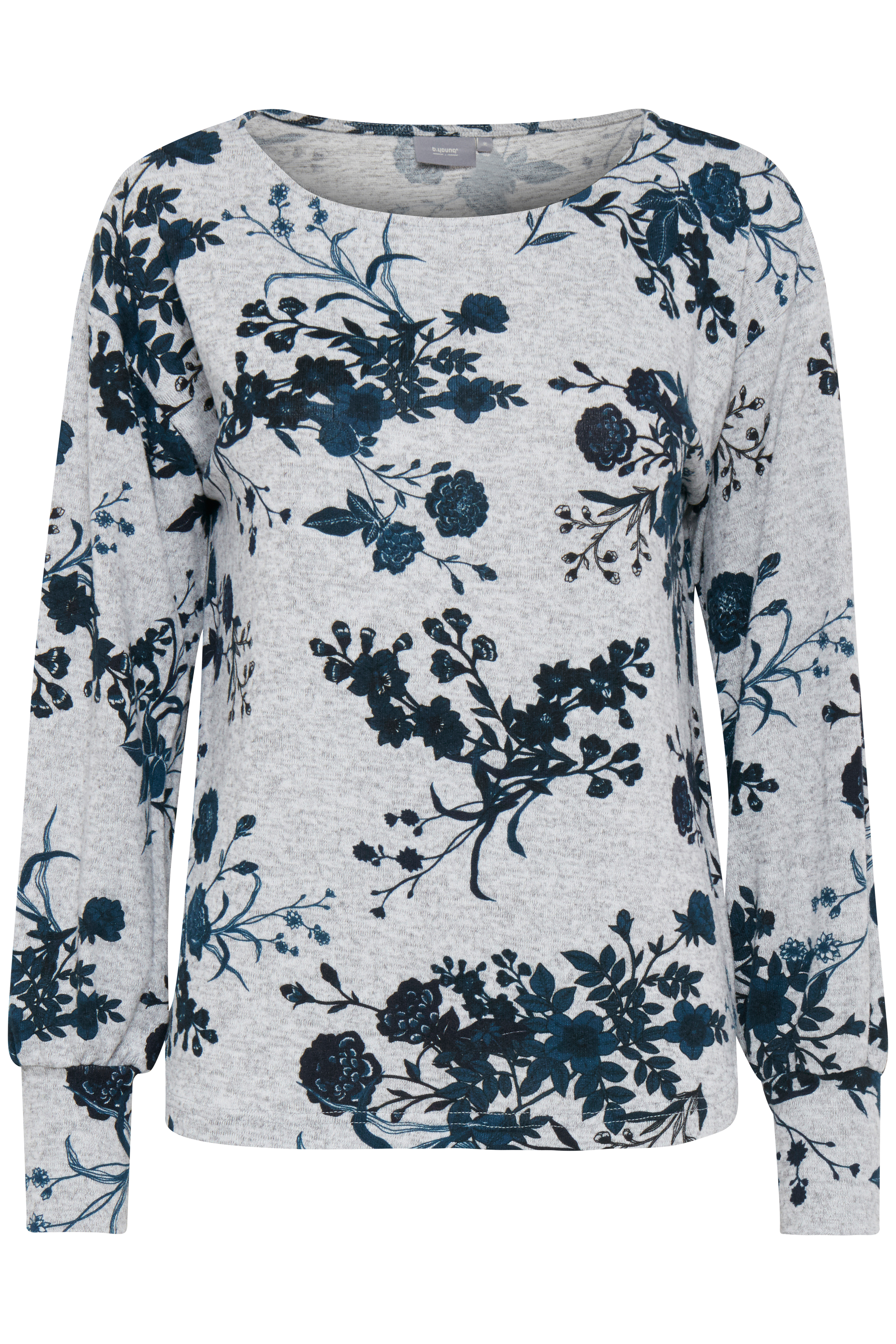 Teal combi 1 Langermet bluse fra b.young - Kjøp Teal combi 1 Langermet bluse fra størrelse XS-XXL her
