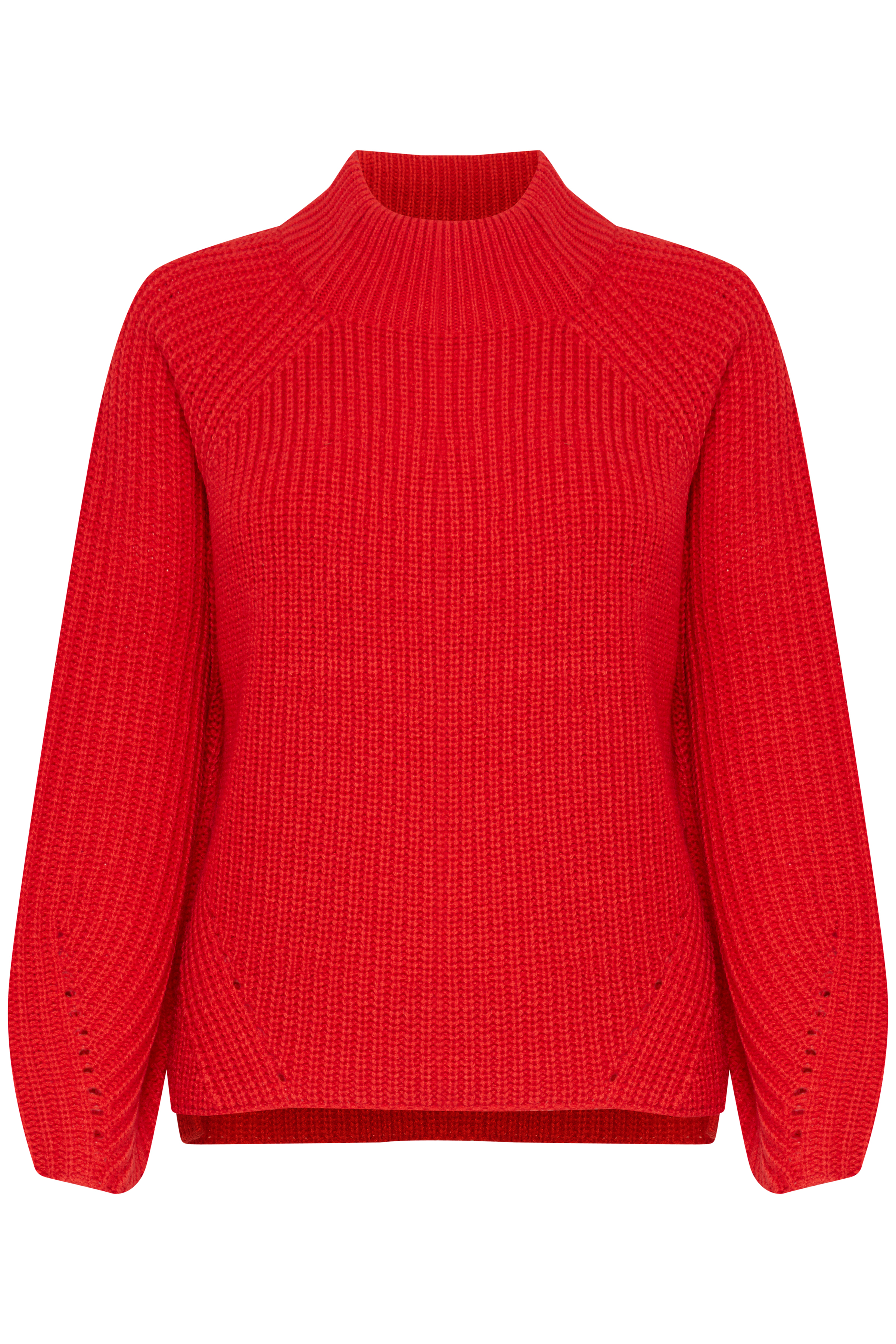 Tomato Red Knitted pullover from b.young – Buy Tomato Red Knitted pullover from size XS-XXL here