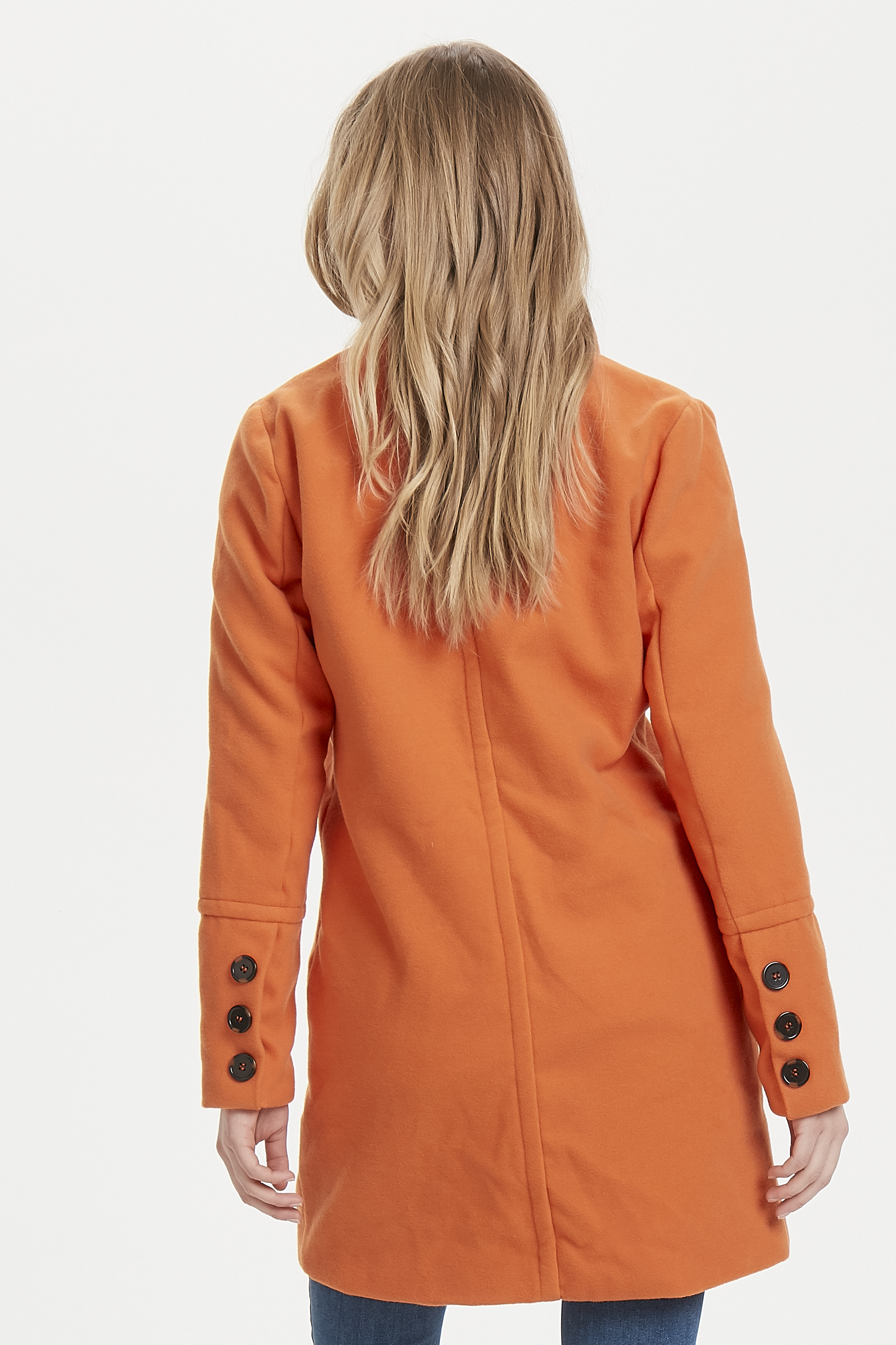 Tulip Orange Jacke von b.young – Kaufen Sie Tulip Orange Jacke aus Größe 34-40 hier