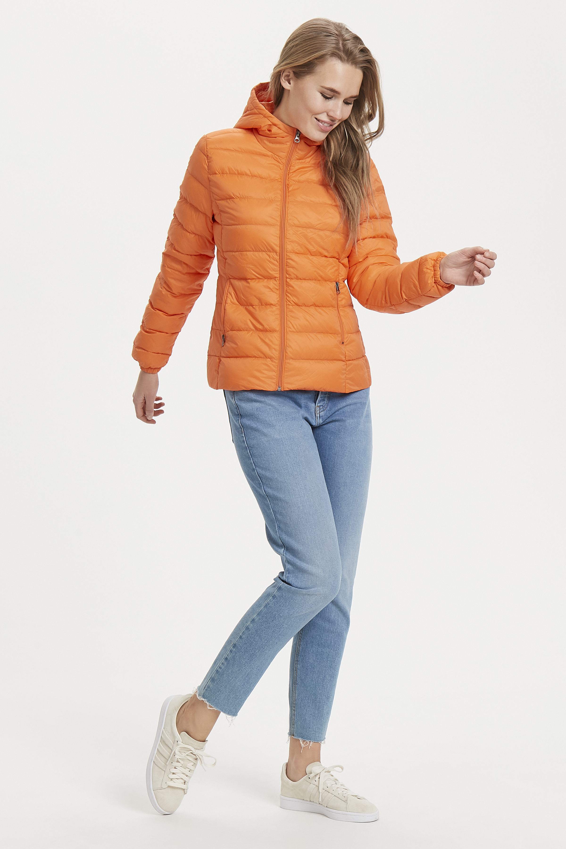 Tulip Orange Jacke von b.young – Kaufen Sie Tulip Orange Jacke aus Größe 34-46 hier