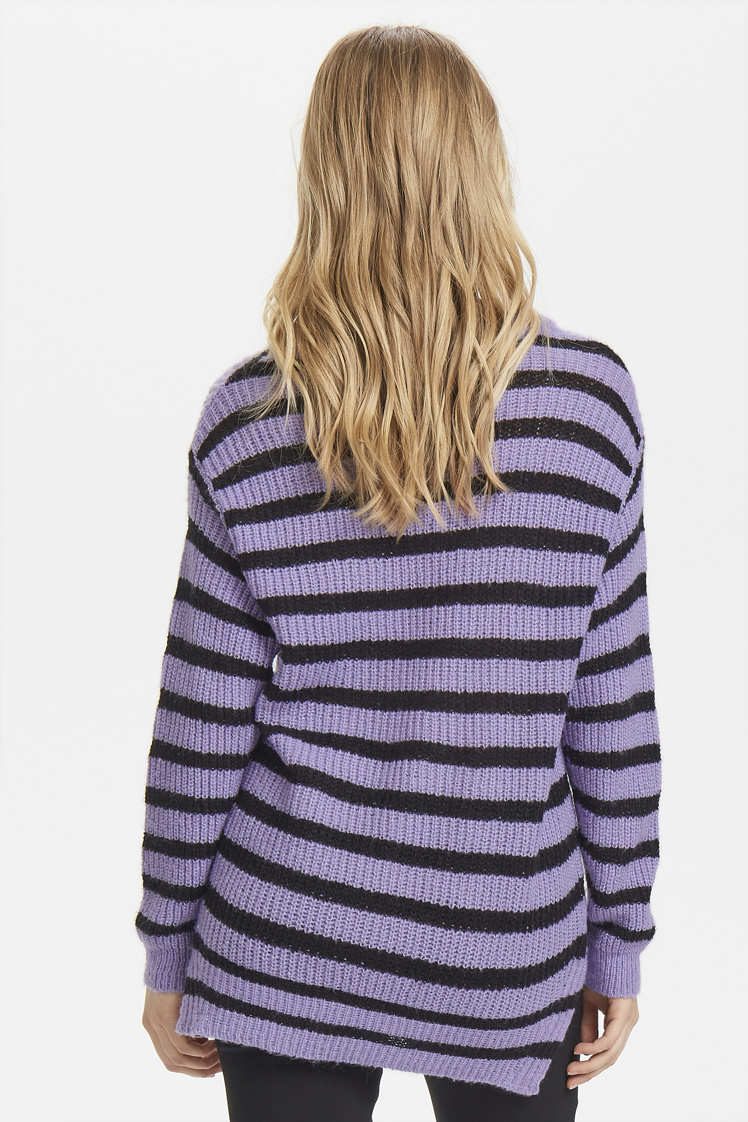 Violet Tulip Combi Knitted pullover from b.young – Buy Violet Tulip Combi Knitted pullover from size XS-XXL here