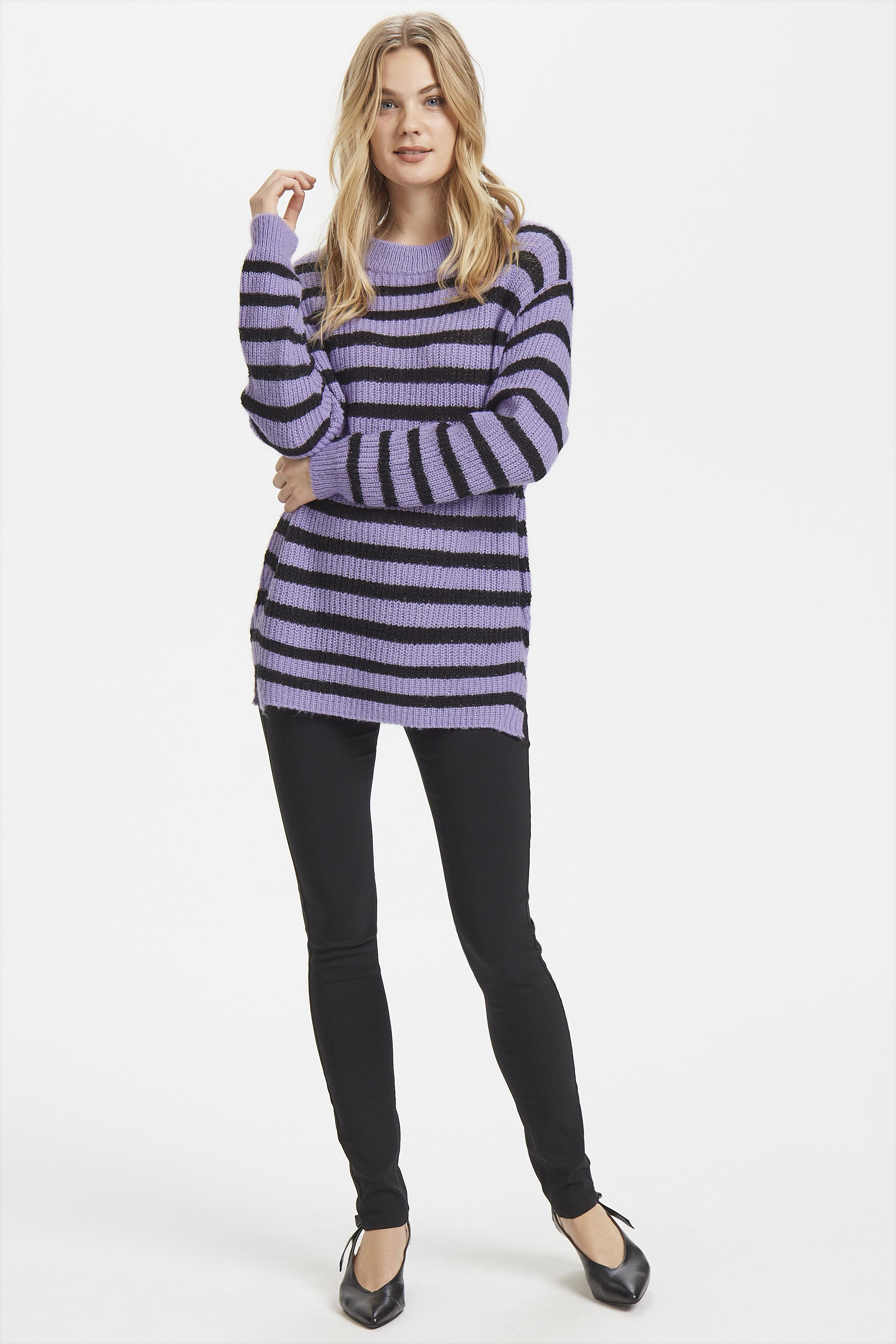 Violet Tulip Combi Stickad pullover från b.young – Köp Violet Tulip Combi Stickad pullover från storlek XS-XXL här