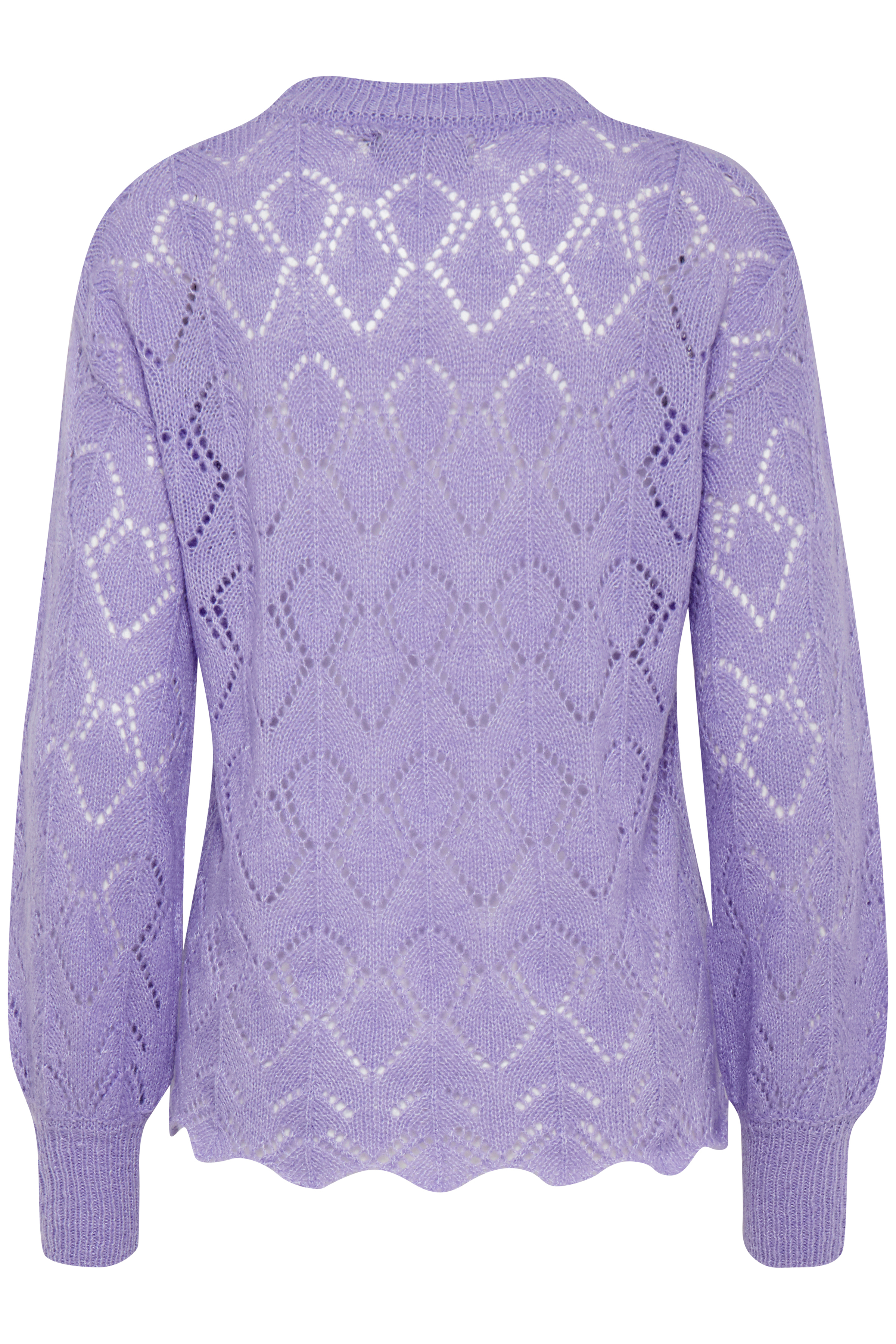 Violet Tulip Mel. Knitted pullover from b.young – Buy Violet Tulip Mel. Knitted pullover from size XS-XXL here
