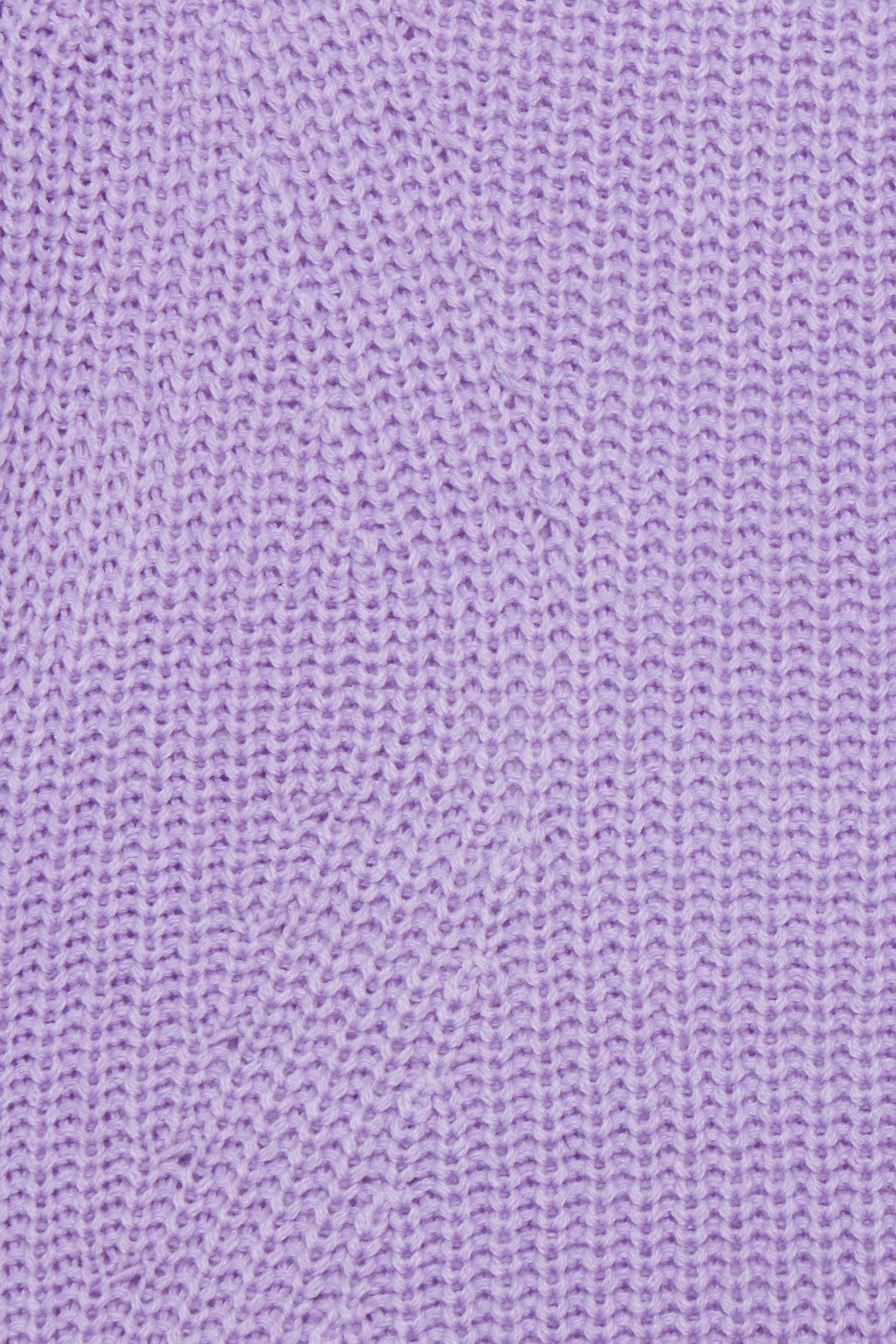 Violet Tulip Strikpullover fra b.young – Køb Violet Tulip Strikpullover fra str. XS-XXL her