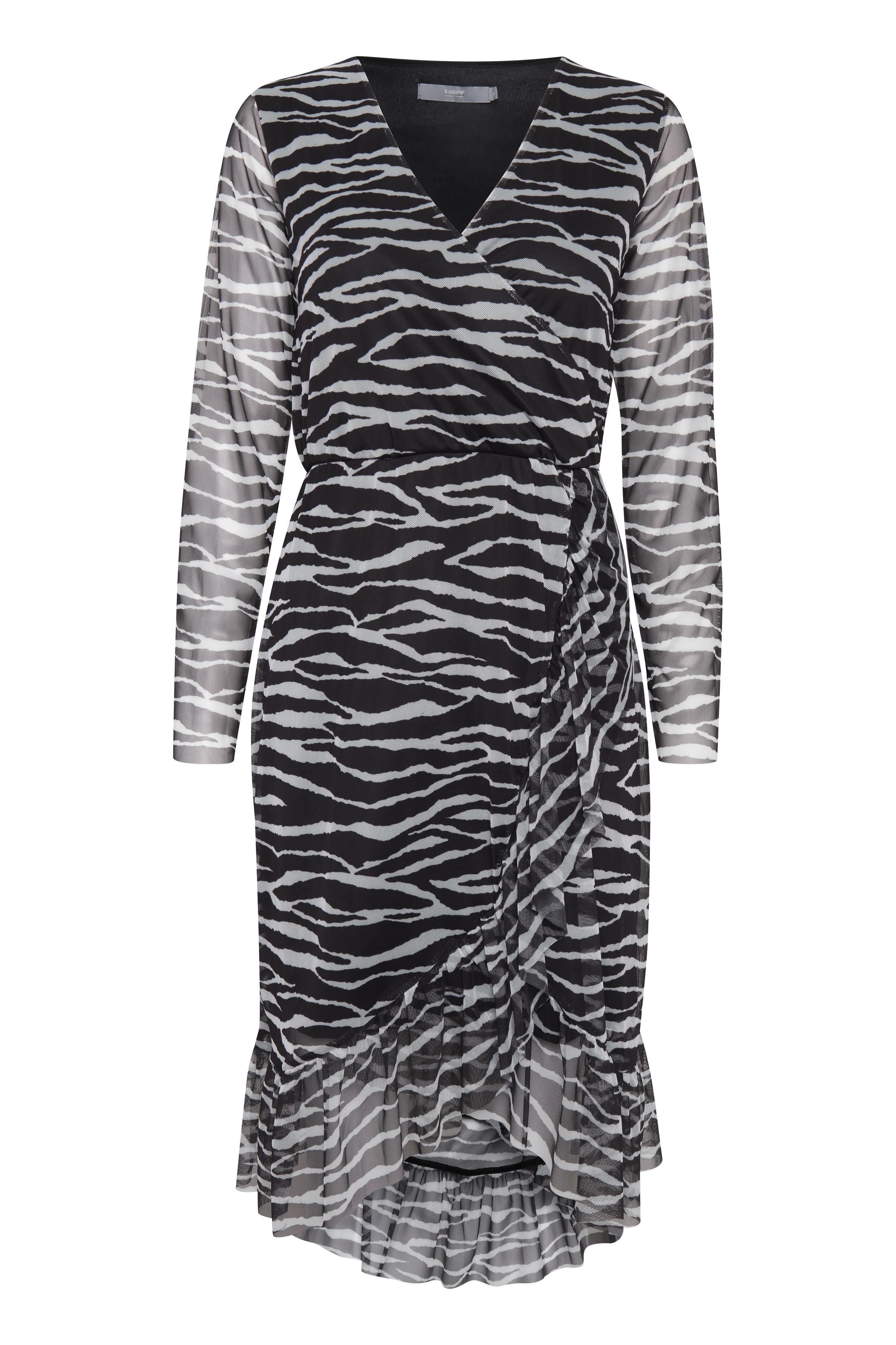 Zebra combi 1 Jerseykjole fra b.young – Køb Zebra combi 1 Jerseykjole fra str. XS-XL her