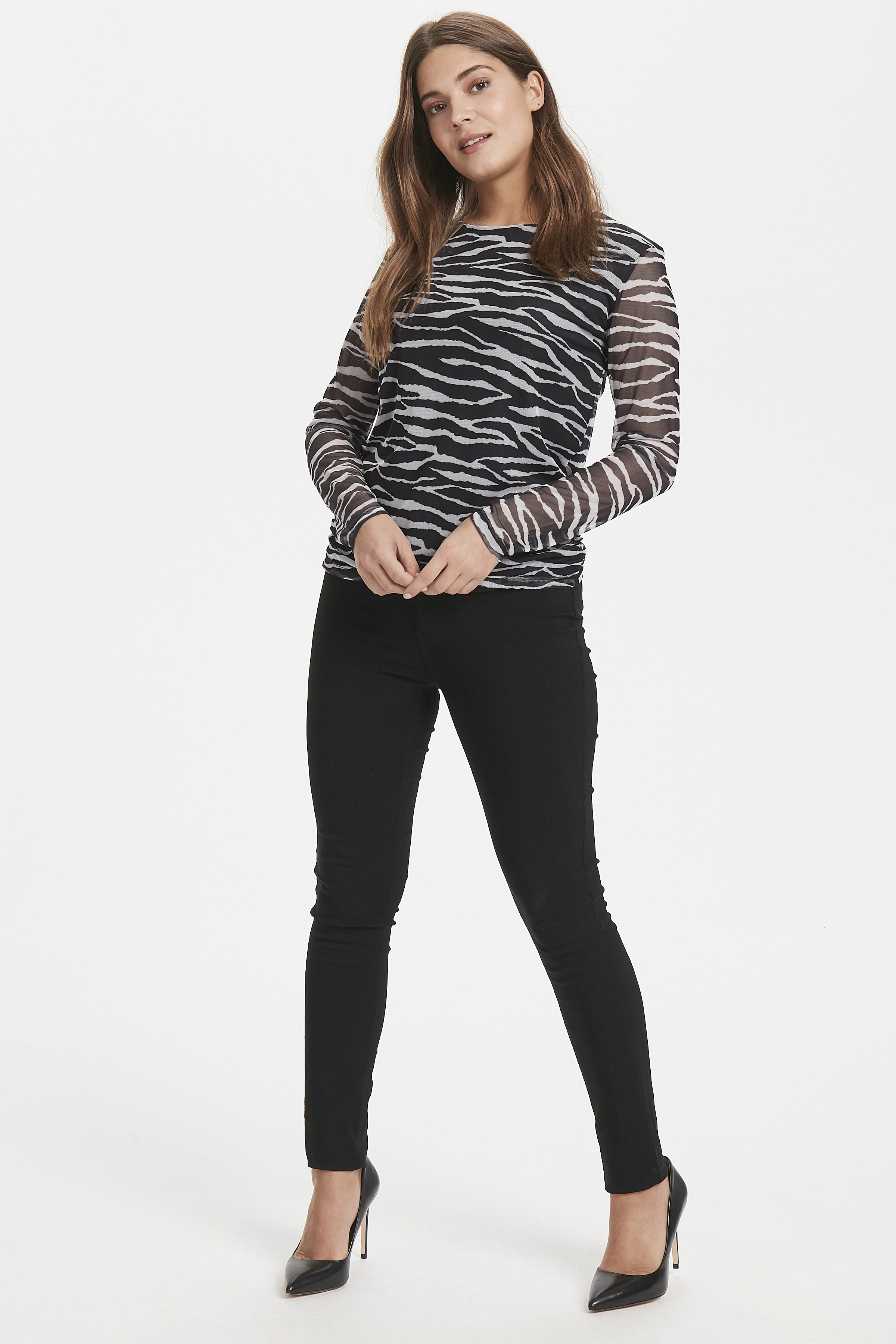 Zebra combi 1 T-shirt from b.young – Buy Zebra combi 1 T-shirt from size XS-XL here