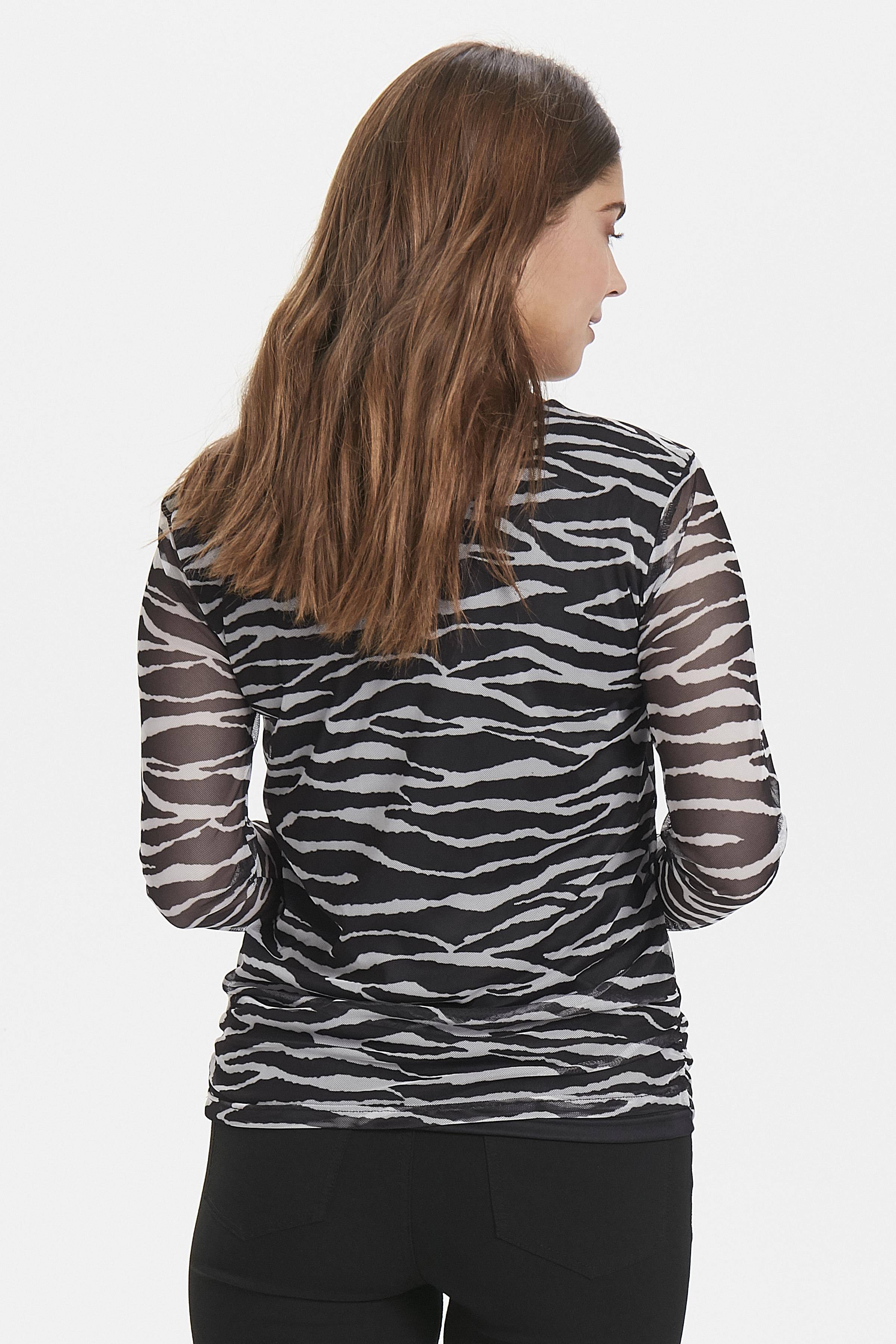 Zebra combi 1 T-shirt from b.young – Buy Zebra combi 1 T-shirt from size XS-XL here